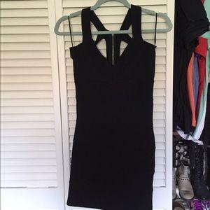 Cage back dress