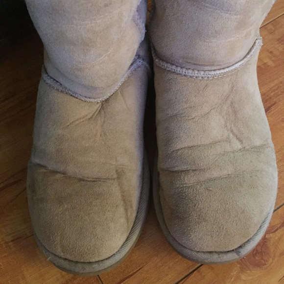 ugg boots wear and tear