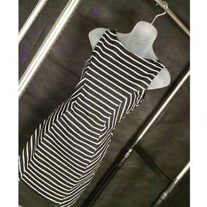 Ripe Dresses & Skirts - Striped Cutout Dress