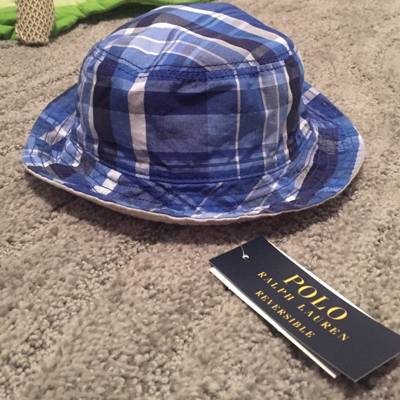 Ralph Lauren reversible bucket hat for baby boy e1943a1e915
