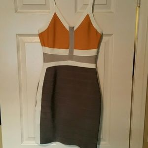 Knitted dress from Herve Leger
