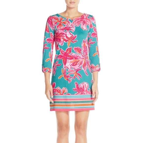 1fe796b6e452b7 Lilly Pulitzer Dresses | Linden Dress In Via Sunny | Poshmark