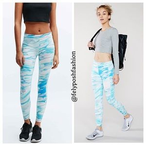Without Walls Pants - Urban Outfitters Without Walls Blue Marble Legging