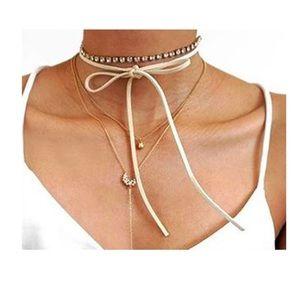 Jewelry - Velvet Crystal Choker