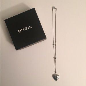 Breil  Jewelry - SUPER SALE!!! Breil Heart Shaped Necklace