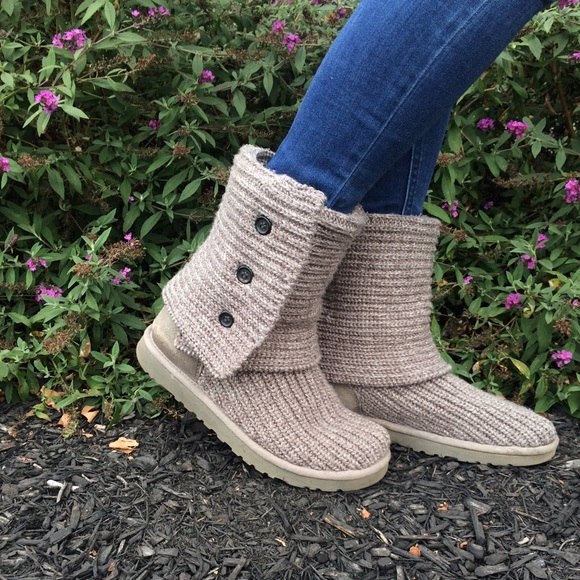 UGG Australia Cardy Knit Boots