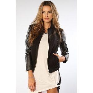 Wesc Jackets & Blazers - WESC Faux Leather Jacket
