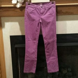 Thanksgiving SaleJ CREW  matchstick corduroy pants
