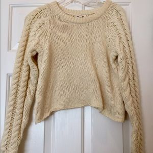 Urban Outfitters Silence + Noise Cream Sweater