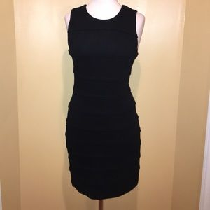Black Sheath Sleeveless Dress - Sz-SM