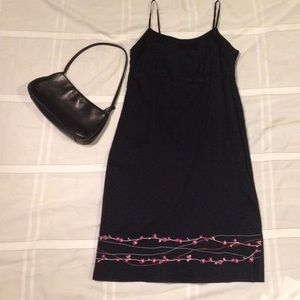 Cute Mossimo  black strapless dress. Size 8.