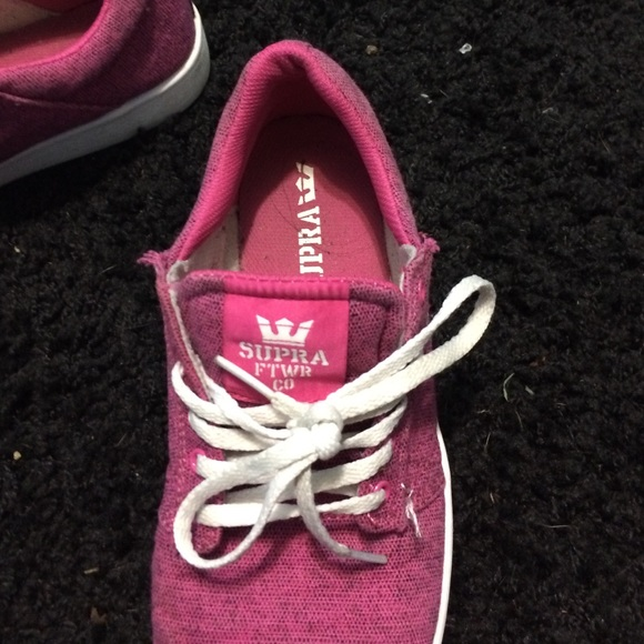 78 off supra shoes pink supra shoes from chloes closet