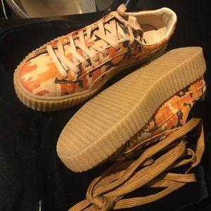 9c4e200d6a019 Puma Shoes | Rihanna Fenty Camo Creepers Size 9 | Poshmark