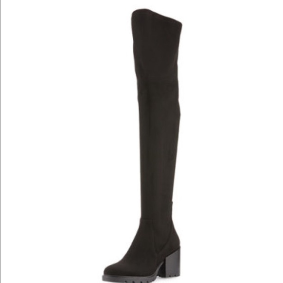 cbb4db01878 Kendall and Kylie suede over the knee Sawyer