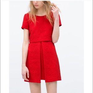 Zara Jacquard dress, size S