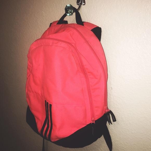 48d6efb127 Adidas Handbags - ADIDAS NEON ORANGE BACKPACK ✨🍊