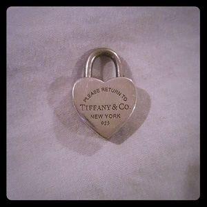 Tiffany & Co Sterling Silver Heart Locket.