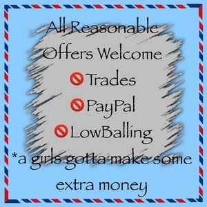 All Reasonable Offers Welcome