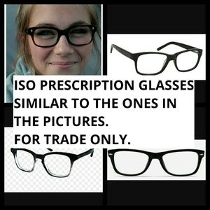 Accessories - I'm looking for prescription glasses.
