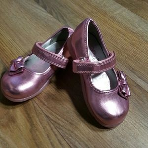 Children's Place Other - NWOT Children's Place Pink metallic shoes
