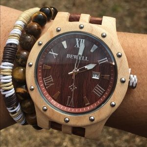 Other - Men's Fashion Wood Watch