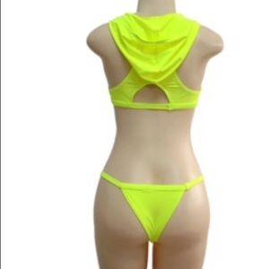 Other - Yellow hooded bikini.