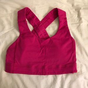 Pink All Sport Bra
