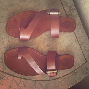 Tan Vince Camuto sandals