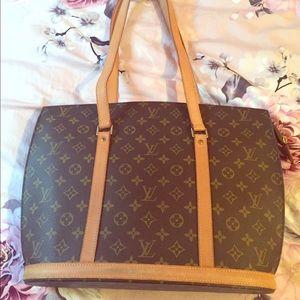 Louis Vuitton Babylone Monogram Tote Bag Vintage