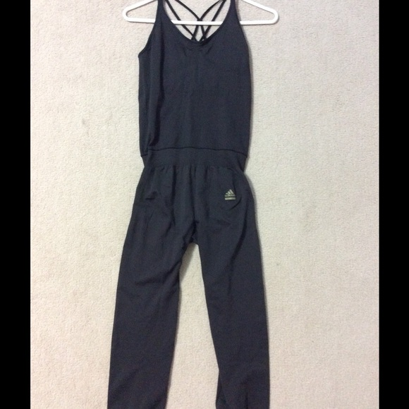 Adidas Pants Unique One Piece Techfit Jumpsuit Poshmark