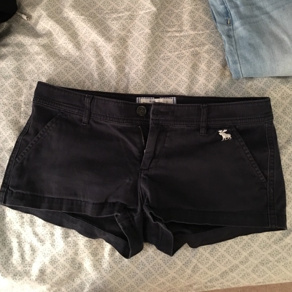 46% off Abercrombie & Fitch Pants - Abercrombie & Fitch navy blue ...