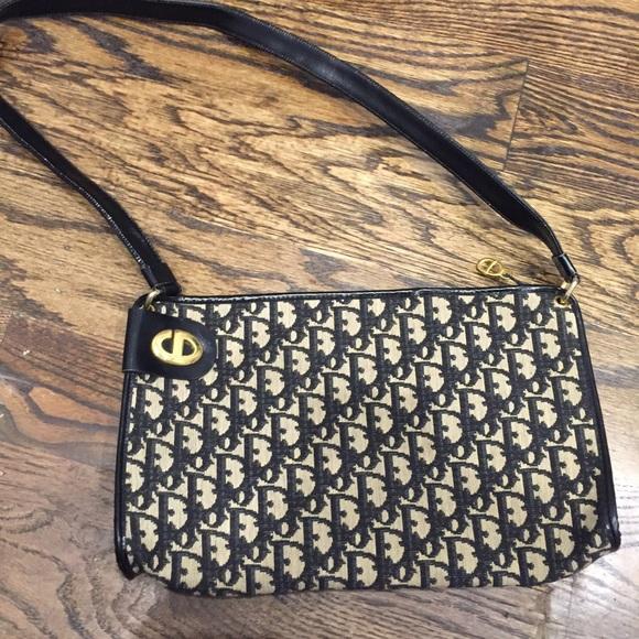 f9d8e6658891 Christian Dior Handbags - Vintage Christian Dior monogram bag