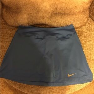 Nike Columbia Blue Dri-Fit Tennis Skirt