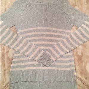 Blue Striped Cozy Sweater