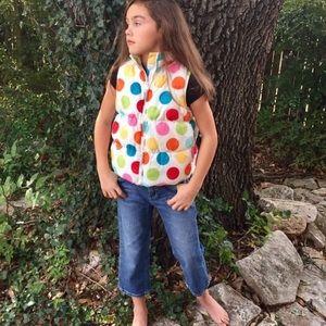 Gymboree Other - •Polka Dots Puffer Vest•