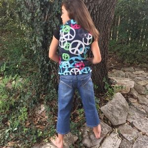 Old Navy Other - •Peace Puffer Vest•