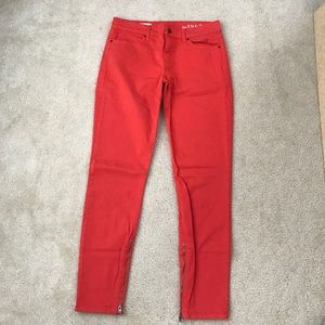 GAP Denim - Gap legging jeans with zippers at ankle