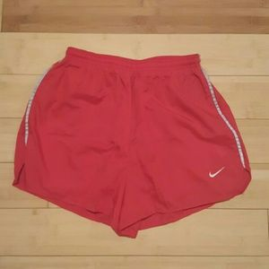 Nike Pants - {Nike} Like New Red Workout Gym Shorts