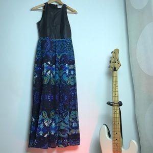 Bustier sheer maxi dress shakuhachi instrument
