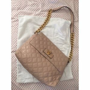 Marc Jacobs XL Quilted shoulder bag in blush