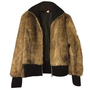Faux Fur DIVIDED by H&M Bomber Jacket