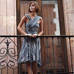 Anthro Plenty by Tracy Reese shirred dress