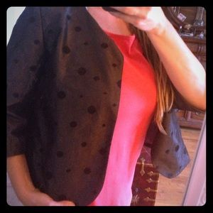 Jackets & Blazers - Polka dotted jacket