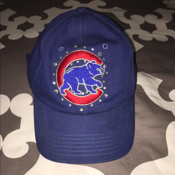 8673201ca PINK Victoria's Secret Accessories | Victorias Secret Chicago Cubs ...