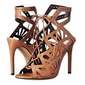 Dolce Vita leather cut out heel sandal