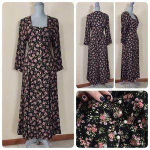 Vintage 70's floral dress!
