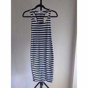Sans Souci Dresses & Skirts - Bodycone striped dress