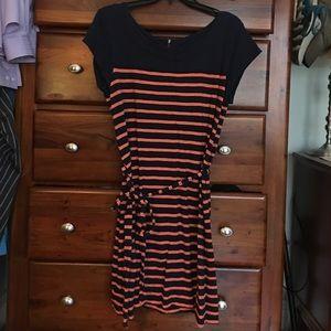 Euc striped merona dress