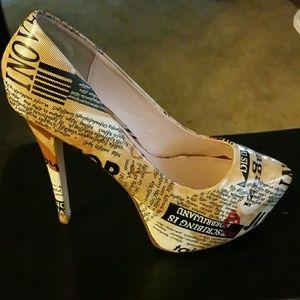 bumper Shoes - Sexy Platform Pumps