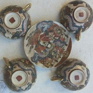 Accessories - Today only!! Antique Japanese Satsuma Tea cups